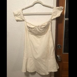 5 for $15! Sexy bustier off the shoulder dress